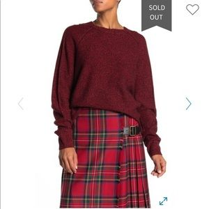 Burberry wool sweater size S/M